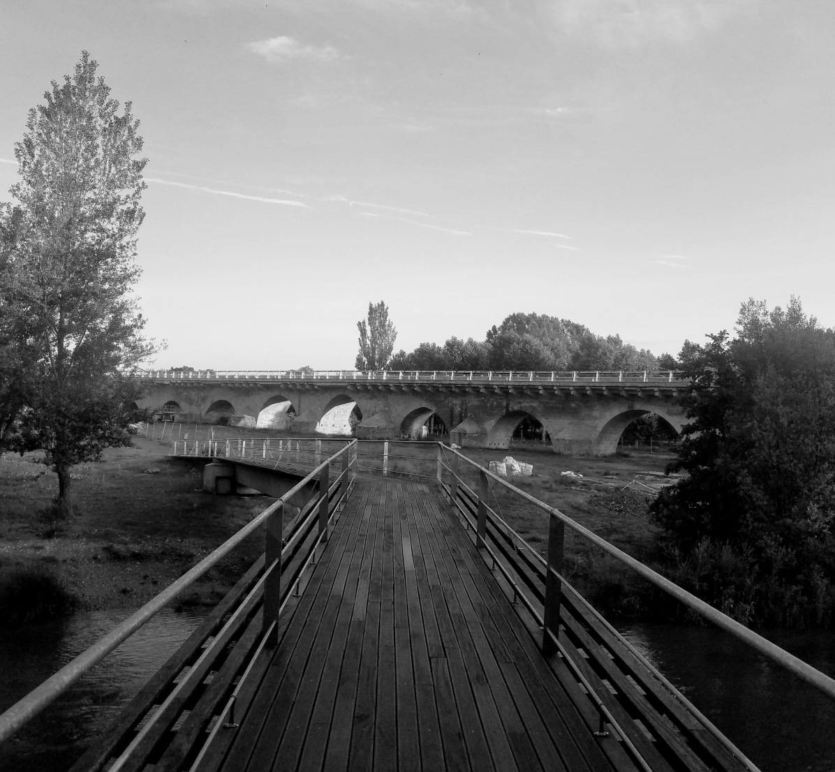 Camino Bridge July 9
